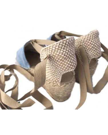 Zapatillas esparteñas mujer con tacon 5cm